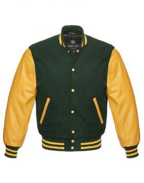 Forest Green Varsity Jacket