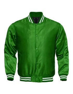 Women Green Satin Jacket
