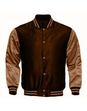 Womens Varsity Satin Jacket