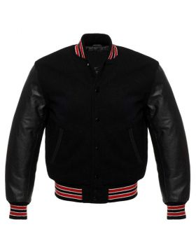 Black Varsity Jacket Kids
