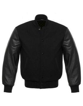 Black Varsity Jacket Womens