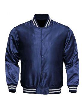 Kids Satin Varsity Jacket