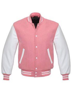 Pink Varsity Jacket Kids