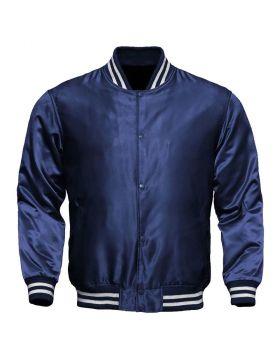 Women Silk Jacket Blue