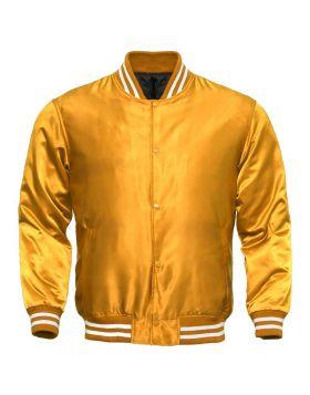 Women Silk Varsity Jacket